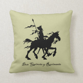 Don Quixote y Rocinante Pillow