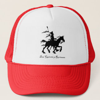 Don Quixote y Rocinante Trucker Hat