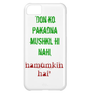 Don Quote iPhone 5C Case