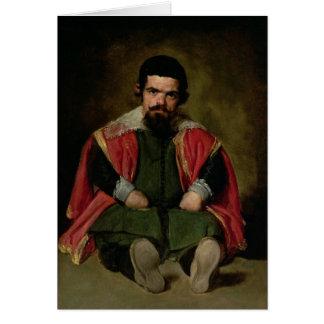 Don Sebastian de Morra, c.1643-44 Card