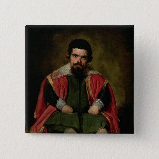Don Sebastian de Morra, c.1643-44 Pinback Button