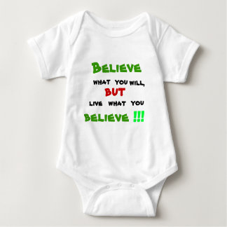 Don't be a Hypocrite Baby Bodysuit