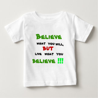 Don't be a Hypocrite Baby T-Shirt