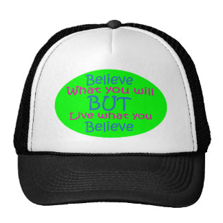 Don't be a Hypocrite Mesh Hats