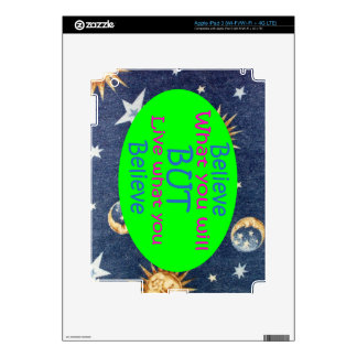 Don't be a Hypocrite iPad 3 Skins