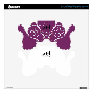 Don't believe the hype! 2 PS3 controller skins