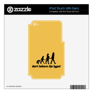 Don't believe the hype! 3 skin for iPod touch 4G