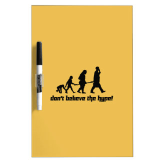Don't believe the hype! Dry-Erase boards