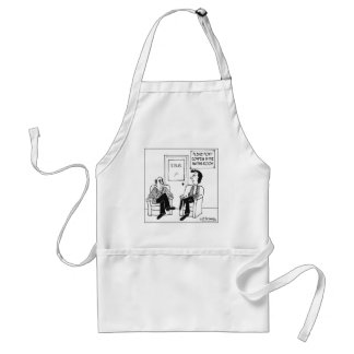 Don't Confess In The Waiting Room Adult Apron