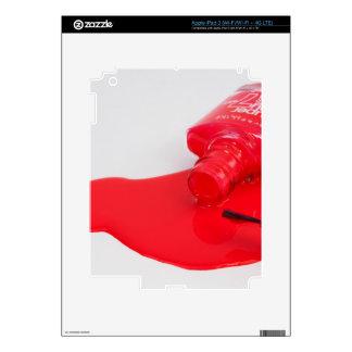 Don't Cry Over Spilt Nail Polish Skins For iPad 3
