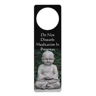 Don t Disturb Meditation Door Knob Hanger