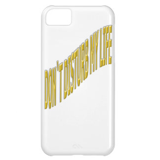 Don`t Disturb my life with coloring yellow iPhone 5C Covers