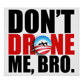 Don t drone me bro Poster