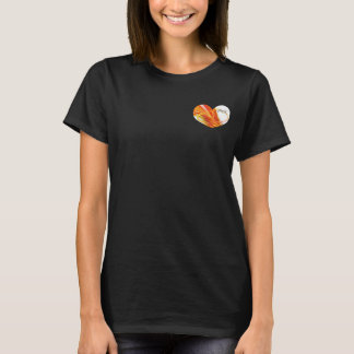 Don't Fight the Water Share Its Spirit Swim Hearts T-Shirt