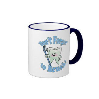 Don t Forget To Brush Mugs