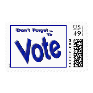 Don t Forget to Vote Postage
