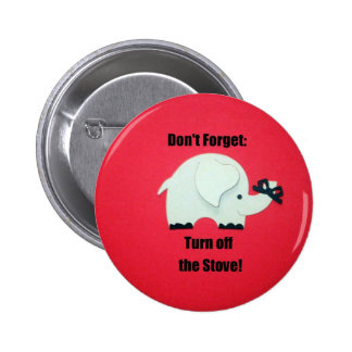 Don t forget Turn off the stove Pin
