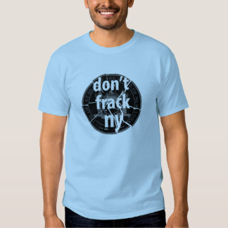 Don't Frack New York Tee Shirt