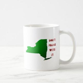 Don t Frack With New York Coffee Mug