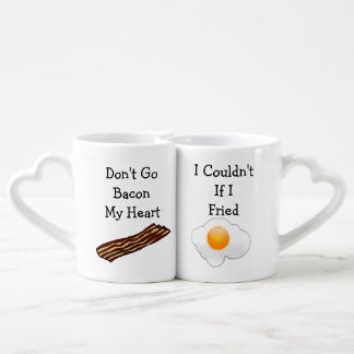 Don t Go Bacon My Heart Funny V2 Couples Mug