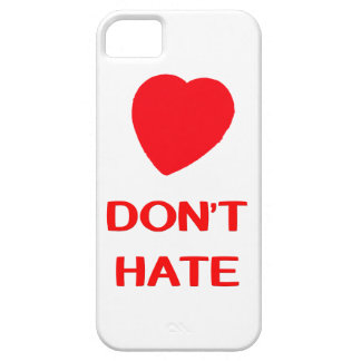 DON'T HATE iPhone SE + iPhone 5/5S, Barely There iPhone SE/5/5s Case