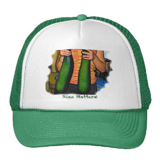 """Don't Hate My """"Double Z"""" Zucchinis! Hat"""
