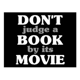 Don t Judge a Book by its Movie Postcards