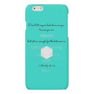 DON'T LET ANYONE LOOK DOWN ON YOU! MATTE iPhone 6 CASE