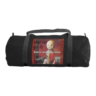 Don´t lose your head :)) duffle bag