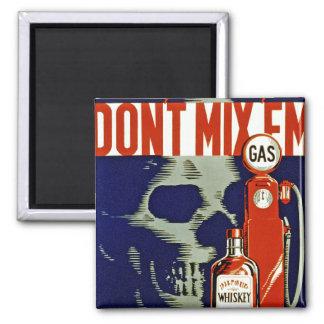 Don t Mix Em Refrigerator Magnet