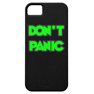 Don t Panic iPhone 5 Cases