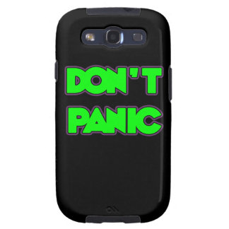 Don t Panic Galaxy SIII Cases