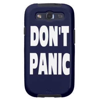 Don t Panic Galaxy SIII Cover