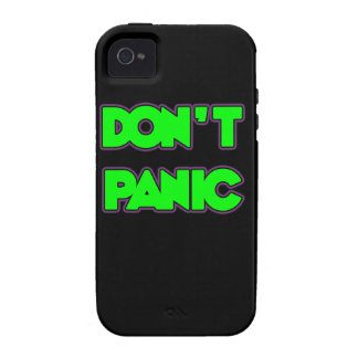 Don t Panic iPhone 4 Cases