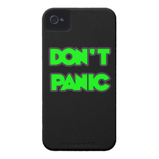 Don t Panic iPhone 4 Case-Mate Case