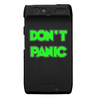 Don t Panic Droid RAZR Cases