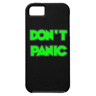Don t Panic iPhone 5 Covers