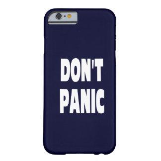 Don t Panic Dark Blue iPhone 6 case