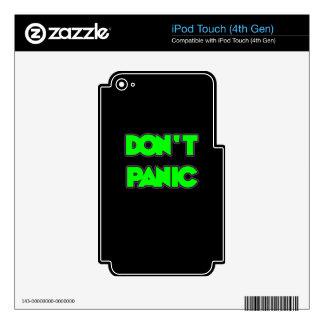 Don t Panic Decal For iPod Touch 4G