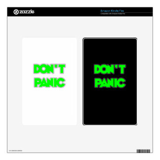 Don t Panic Kindle Fire Decal