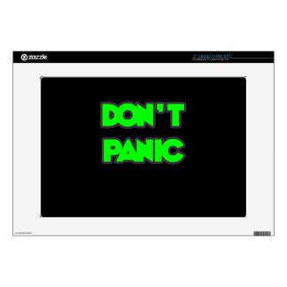 Don t Panic Laptop Skin