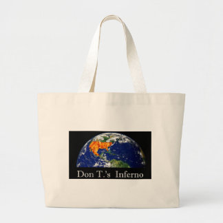 Don T.'s Inferno Large Tote Bag