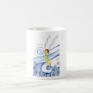 Don´t stop sailing my little boat coffee mug