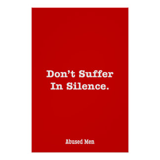 Don't Suffer In Silence Poster