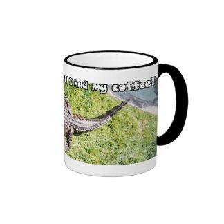 Don t talk to me til I had my coffee Mug