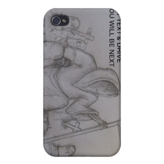 Don t Text Drive Grim Reaper i iPhone 4/4S Cover