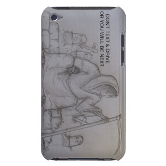 Don t Text Drive Grim Reaper ipod Touch Case