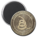 Don't Tread on Me 2 Inch Round Magnet