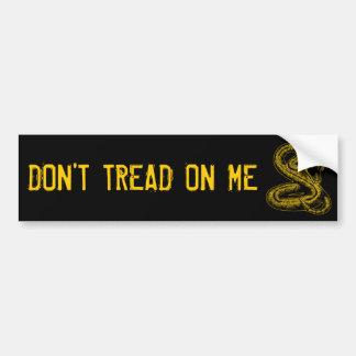 Don t Tread On Me Bumper sticker