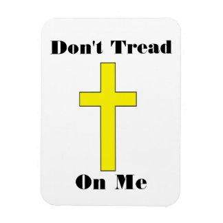 Don t Tread On Me - Cross Religious Freedom Magnet